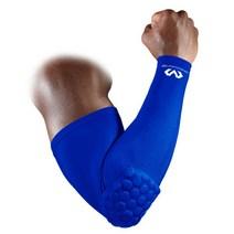 맥데이비드 Hexpad Power Arm Sleeve 팔꿈치보호대 6500R 로얄블루 S, 1개