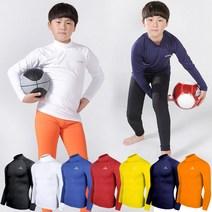 엑스프린 유소년 사계절 반목폴라 스포츠 언더레이어 축구 베이스 기능성 티셔츠