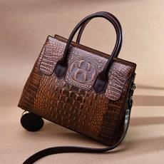 f5bfbef0d63 도오빠 악어 여성 핸드백 숄더백 가방 패션 가죽 캐주얼 크로스백 여자가방